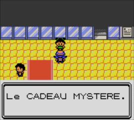 Pokémon Cristal Envoyons Nous Plein De Cadeaux Le Cadeau