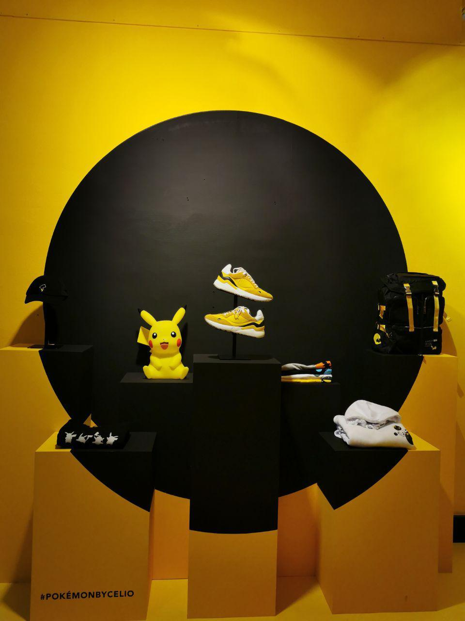 boutique celio x Pokemon