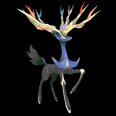 Xerneas le pok mon existence fiche pok dex eternia - Image pokemon legendaire ...