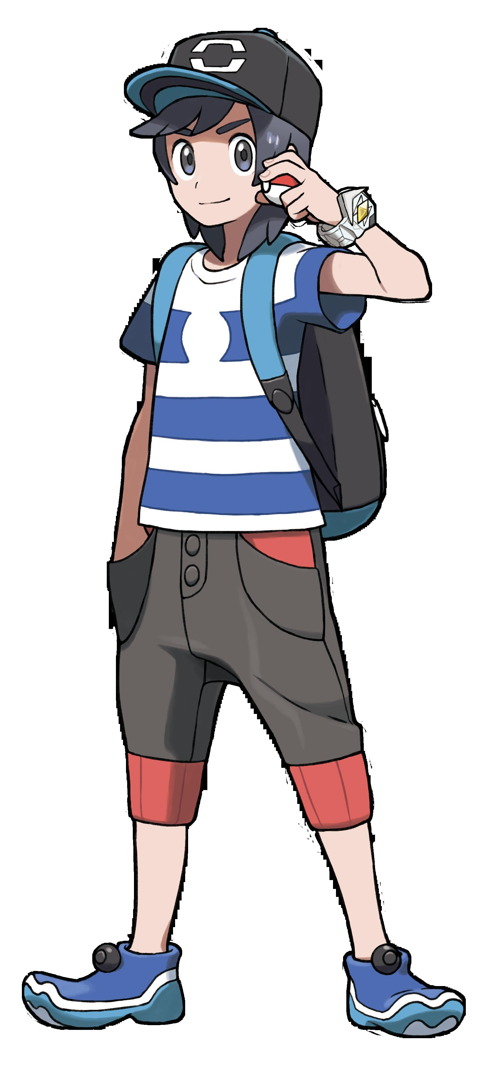 Pok mon soleil et lune feat ken sugimori les artworks - Pokemon noir et blanc personnage ...