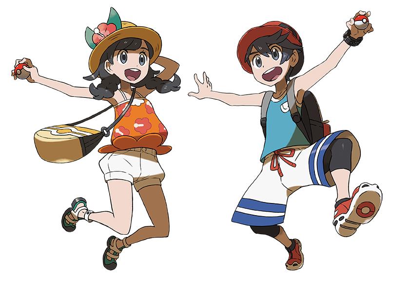 Couleur de cheveux pokemon x