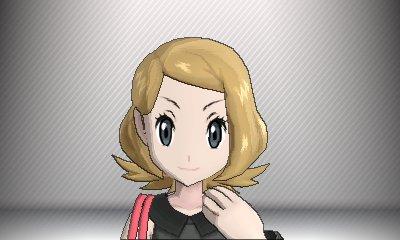 Pokemon x et y coupe de cheveux fille